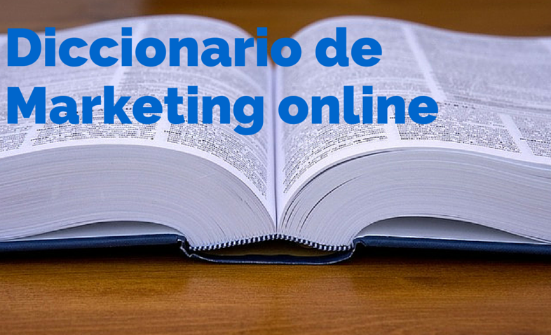 diccionario de marketing onilne