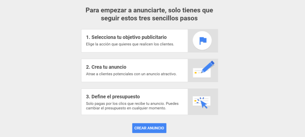 Adwords Express - Registro